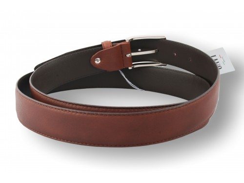 K03/35 Belt Genuine Calf Leather Nappa size extra long available in 3 colors