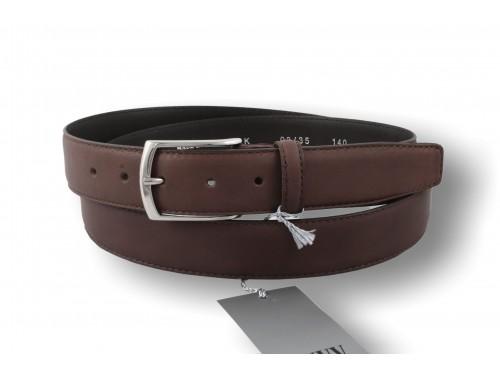K03/35 Cintura Vera Pelle Vitello Nappa taglia extralunga diversi colori