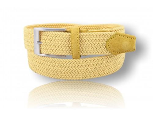 C073/35 Cintura nastro elastico intrecciato diversi colori