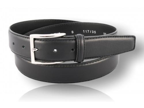 S117/35 Cintura Vera Pelle Vitello Nappa diversi colori