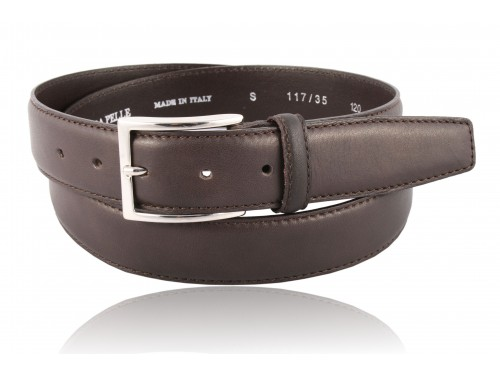 S117 / 35 Genuine Calf Leather Belt Nappa different colors