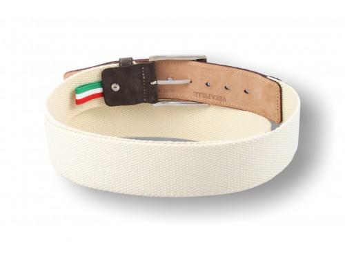 C093/40 Cintura nastro tessuto puntale Pelle diversi colori