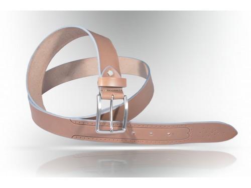 E099/35 Cintura Vero Cuoio liscia diversi colori
