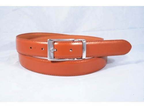 S053/35 DOUBLEFACE Genuine Leather Man Belt, 2 colors