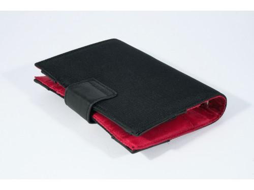 CS0175 Porta Agenda Organizzata Tessuto/Pelle diversi colori