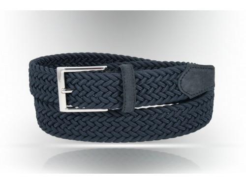 C097/35 Cintura nastro elastico intrecciato diversi colori