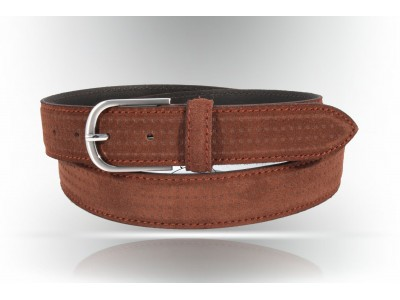 S406 / 35 Genuine Leather Suede Belt different colors