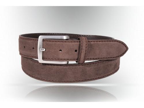 Y006/35 Cintura Vera Pelle camoscio diversi colori