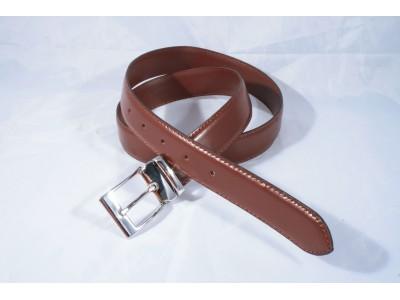 S053/35 DOUBLEFACE Genuine Leather Man Belt, 2 colors